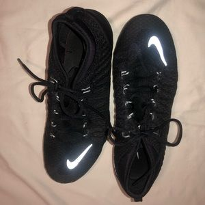 Boxing gym mat shoes black nike NWOT sz 6 sparring
